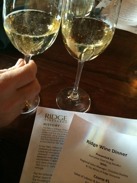 Ridge Wine Dinner, T-Box, Ham Lake, MN