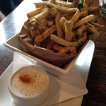 french fries and goat cheese ranch